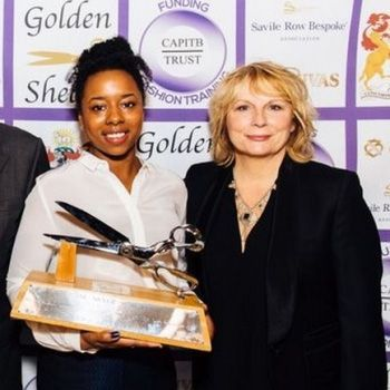 2015 - Apprentice Coatmaker Dionne Reeves wins the prestigious Silver Shears Award at the bi-annual Golden Shears competition